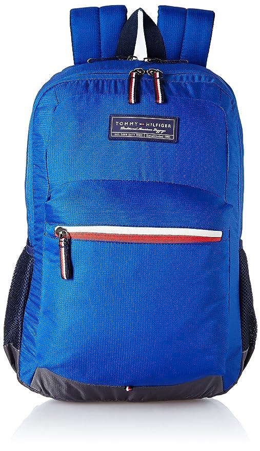 b68b6fd321eb Tommy Hilfiger 20.93 Ltrs Navy Laptop Backpack (TH BIKOL08GRA)  Amazon.in   Bags