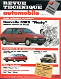 REVUE TECHNIQUE AUTOMOBILE N° 512 FORD FIESTA ESSENCE ET DIESEL / C / CL / CLX / GHIA / S