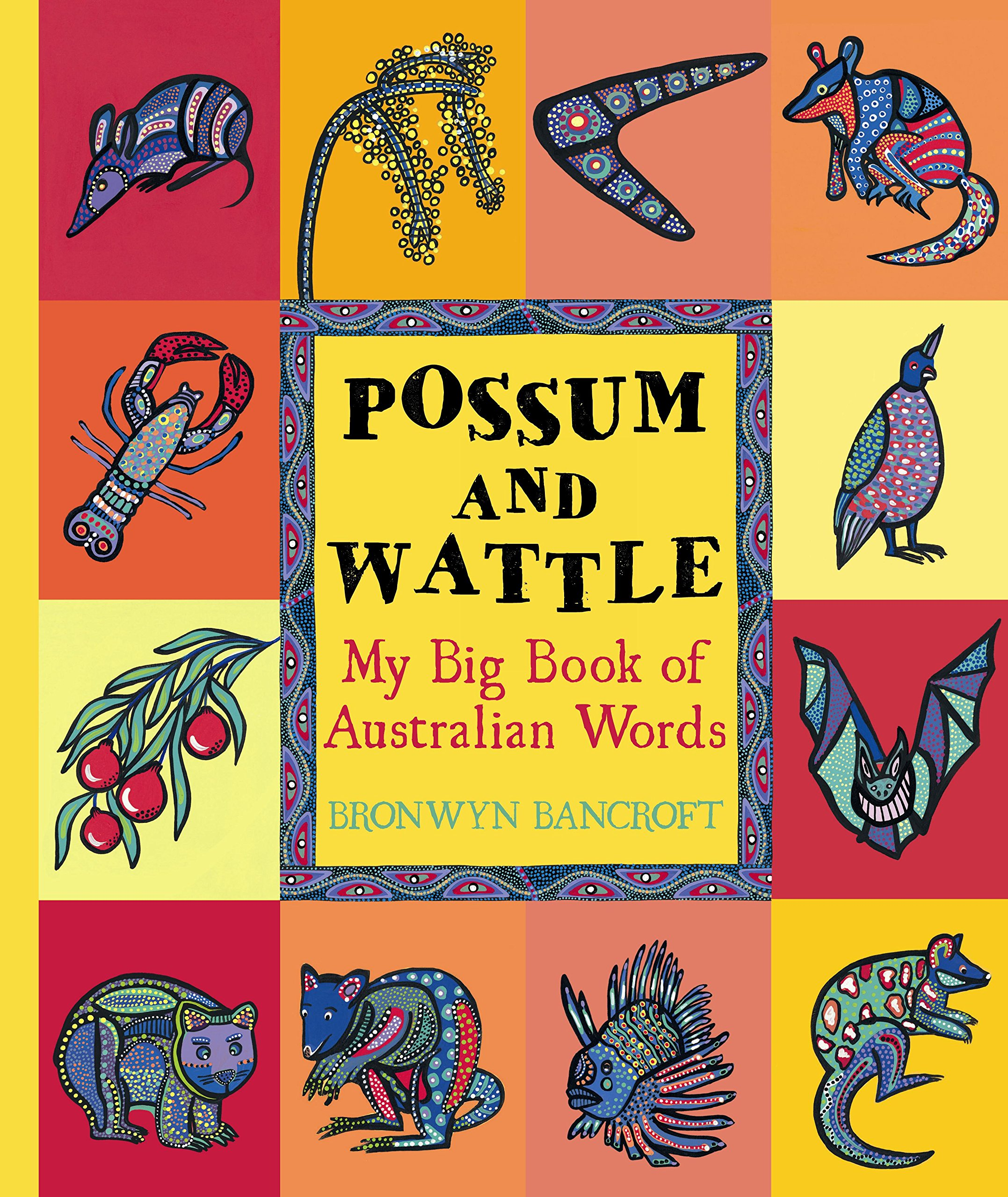 Possum and Wattle: My Big Book of Australian Words Text fb2 ebook