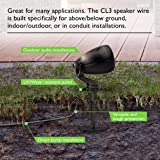 14 AWG CL3 OFC Outdoor Speaker Wire, GearIT Pro