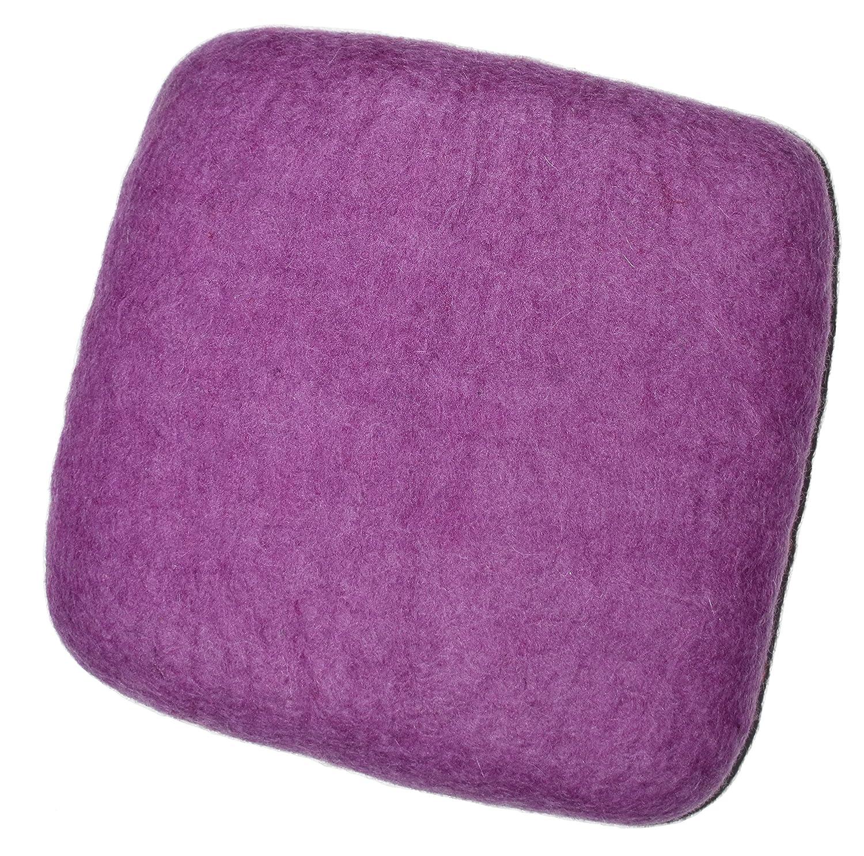100% Woolen Needle Fetling Mat   Eco-Friendly Natural Wool Needle Felting (9 x 9, Navy Blue) sandybrollc