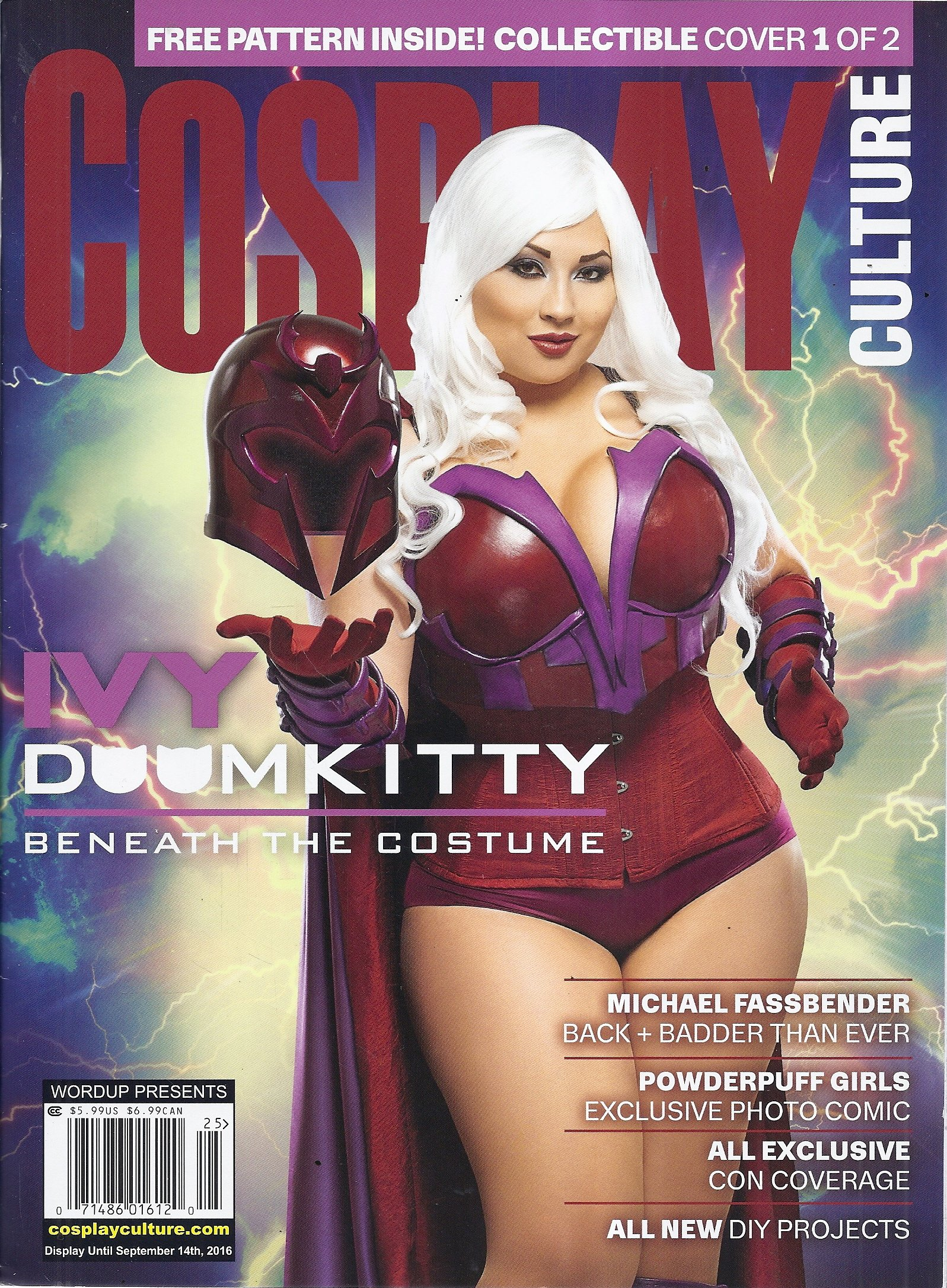 Word Up Presents: Cosplay Culture (#30 - Cover 1 of 2 - Ivy Doomkitty) ebook