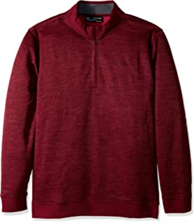 Under Armour Mens Storm SweaterFleece Herringbone ¼ Zip