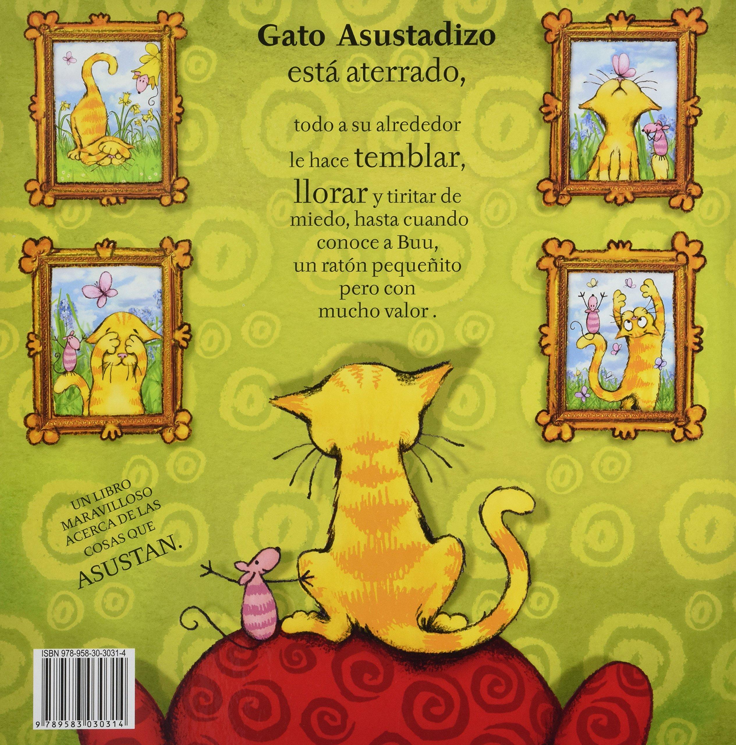 Gato Asustadizo Y Buu / Scaredy Cat and Boo (Spanish Edition): Michael Broad: 9789583030314: Amazon.com: Books