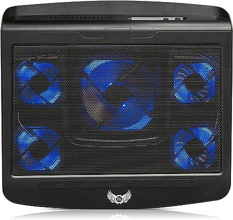 SKGames T5 - Base de refrigeración para portátil de 10-17