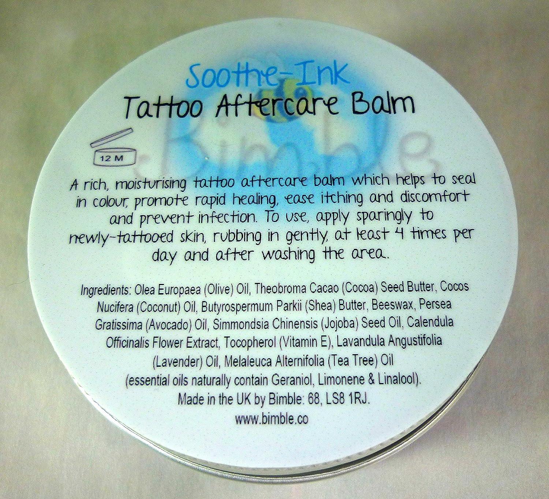Bálsamo suavizante Bimble «Soothe-Ink» para el cuidado de la piel ...