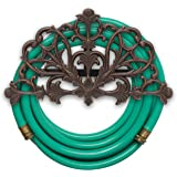 Whitehall Products Filigree Hose Holder, Oil Rub Bronze
