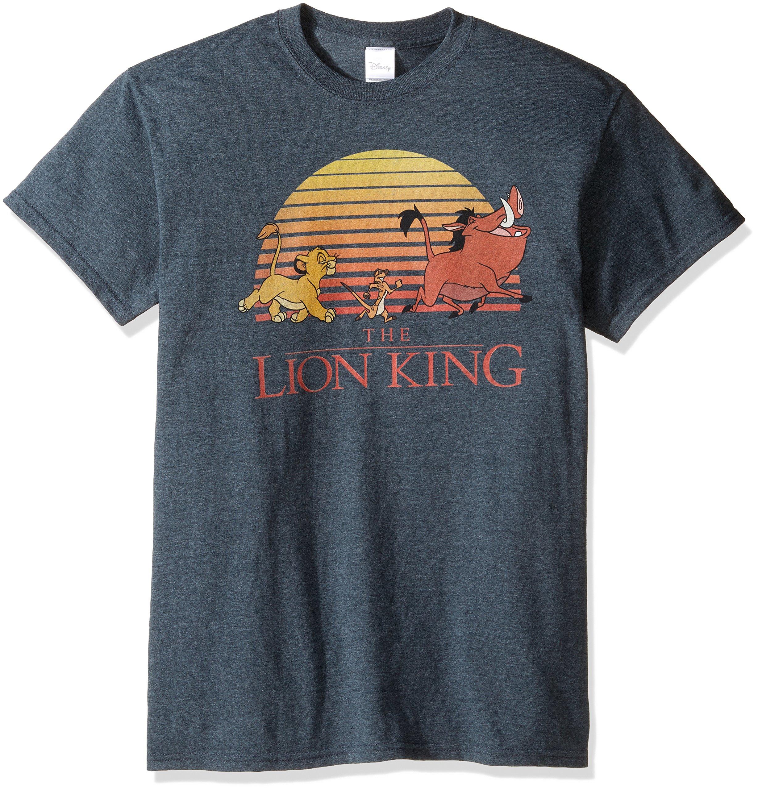 The Lion King Retro Sunset T Shirt 1842
