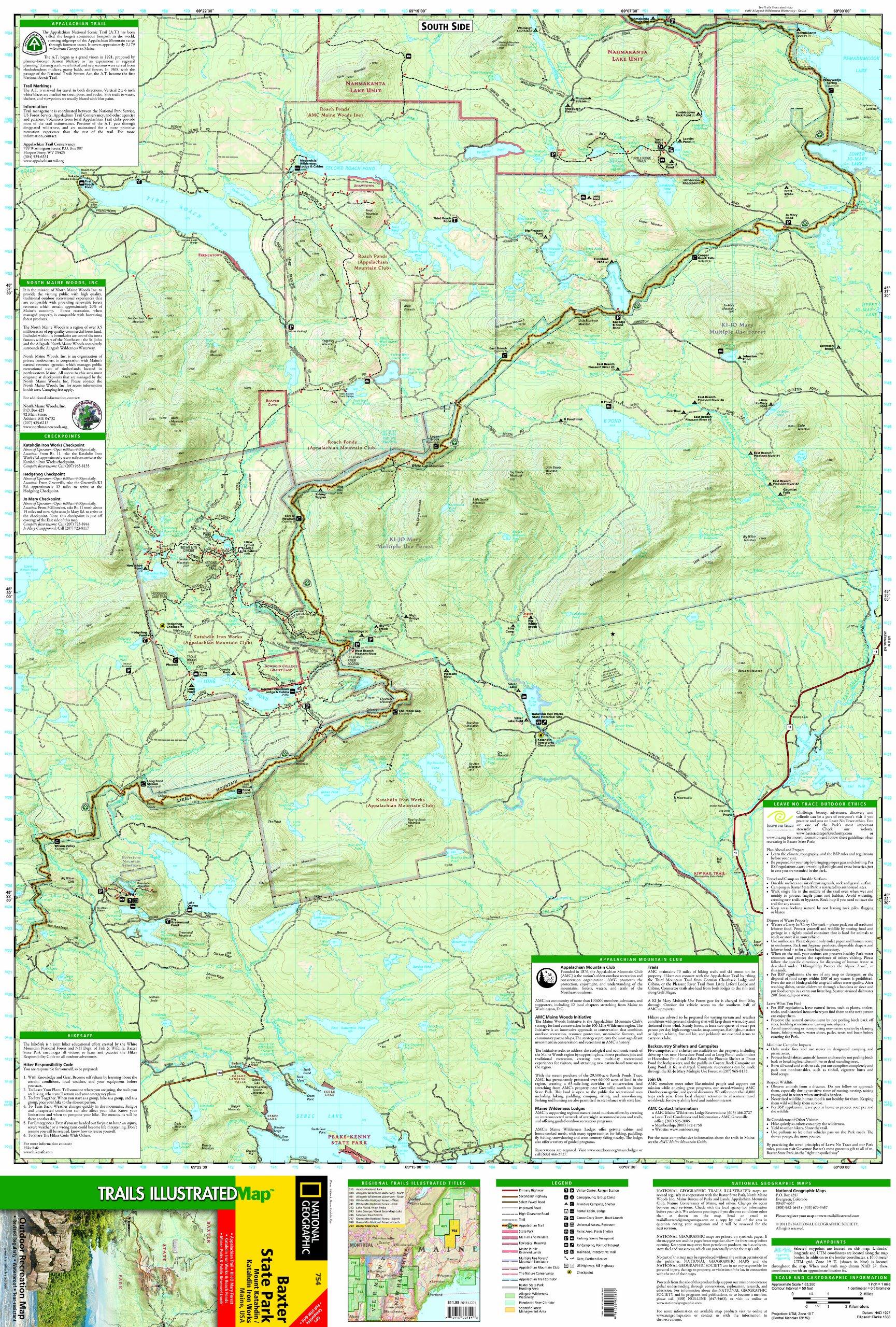 Baxter State Park [Mount Katahdin, Katahdin Iron Works ...