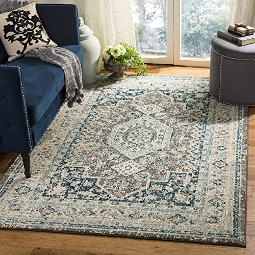 Safavieh Area Rug, 3 x 5 , Grey