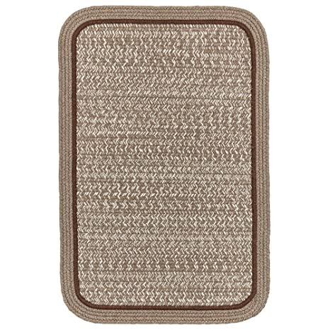 Amazon.com: Super área Alfombras, wool-made Braided Rug ...