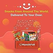 MunchPak - Mini - International Snack Subscription Box: 5+ Snacks