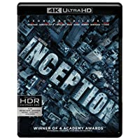Deals on Inception 4K Ultra HD Blu-ray