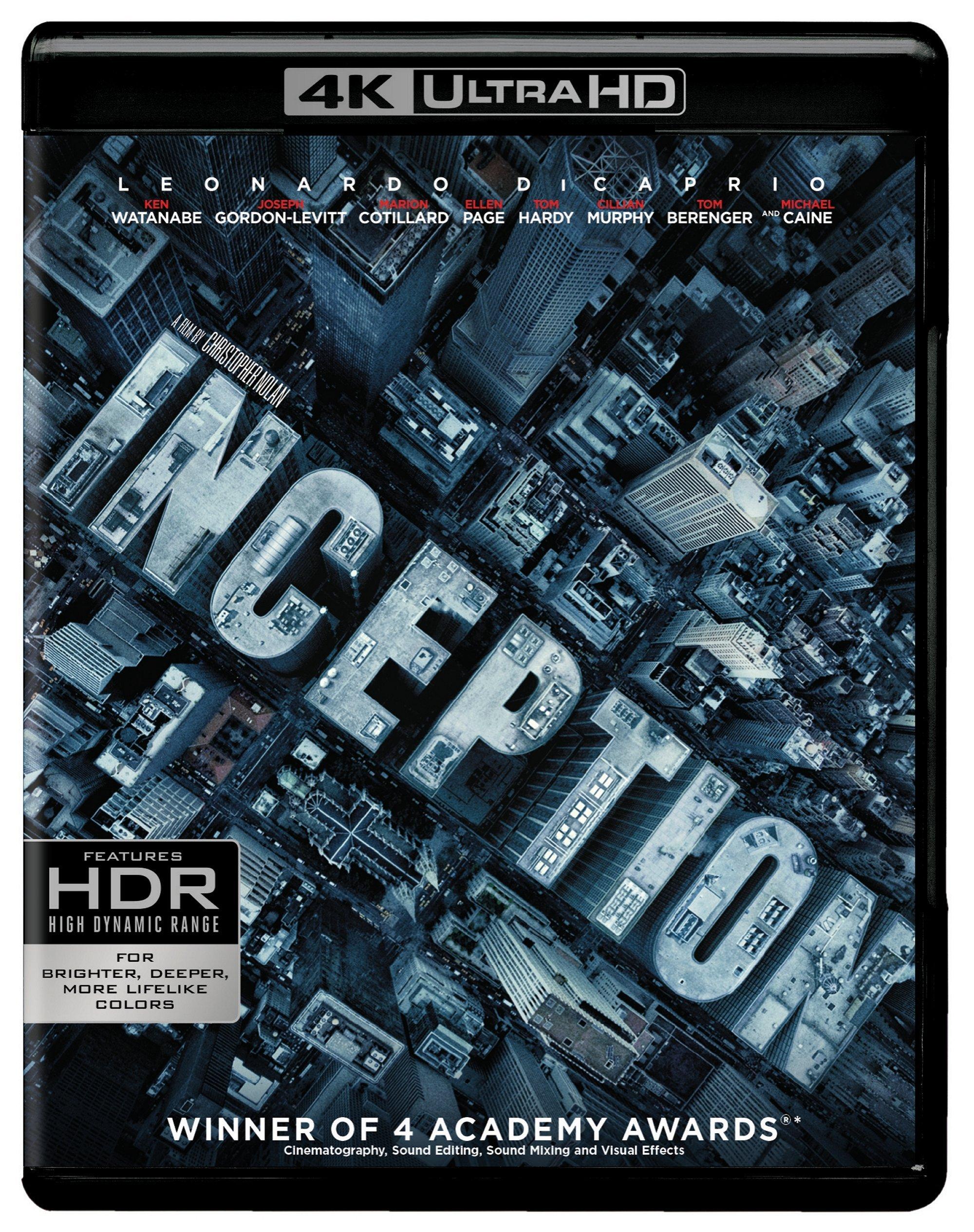 Inception (4K UHD + Blu-ray)