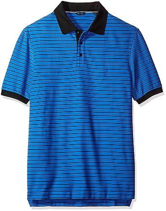 Nautica Hombres Z64125 Camisa Polo - Azul - 1X: Amazon.es: Ropa y ...