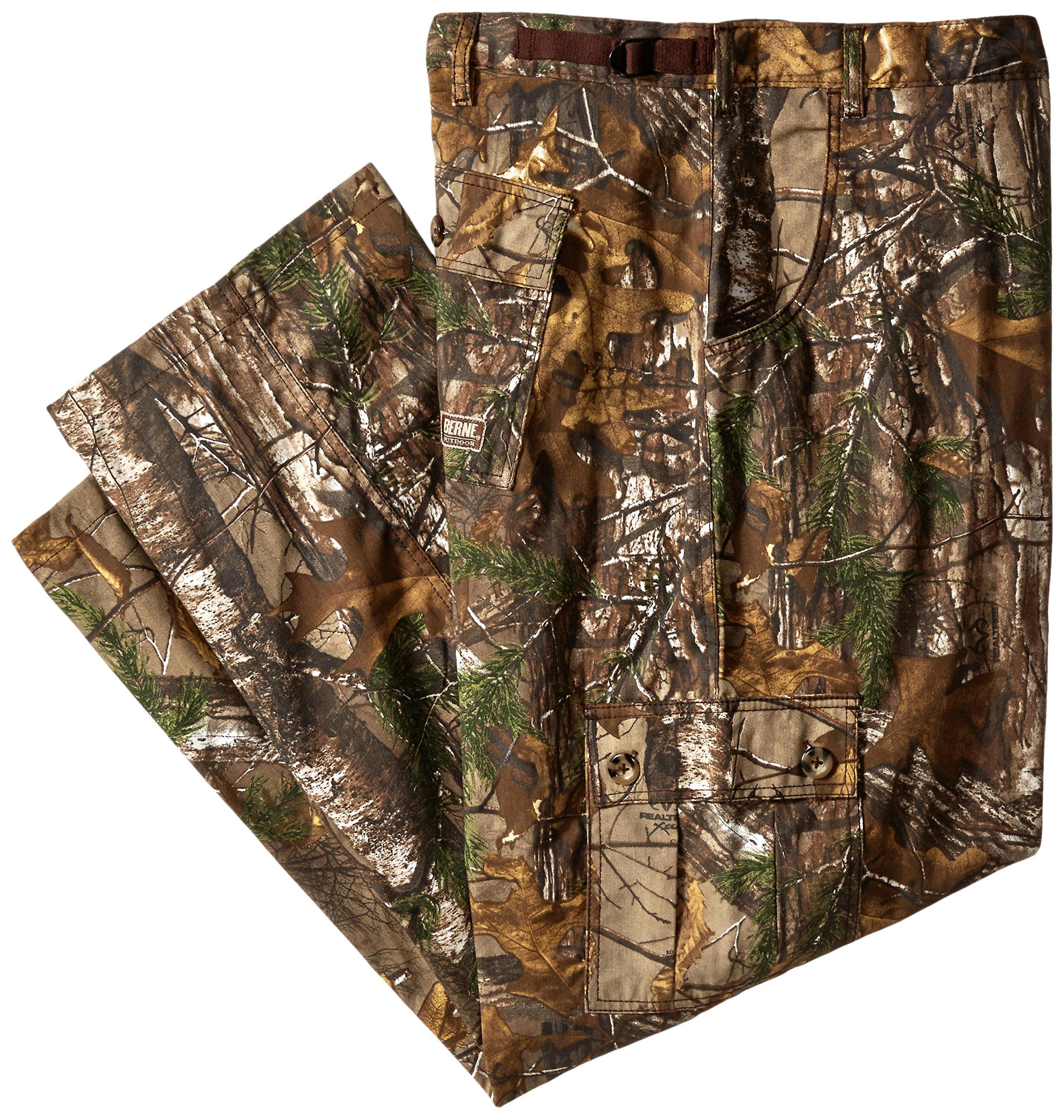 Berne Men's Big-Tall Field Pant, Realtree Xtra, 3X-Large/Regular