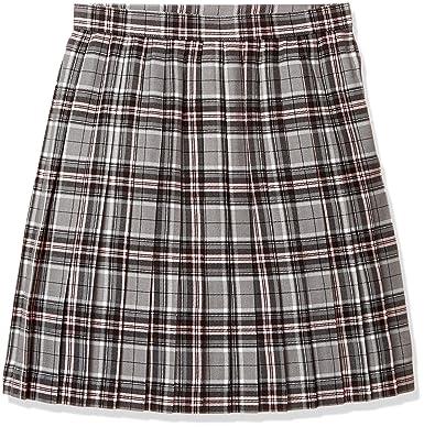 47d91173fe22b4 Amazon.co.jp: [キューポップ] 丈が選べるチェック柄プリーツスカート(スクール・制服) TN-92 レディース: 服&ファッション小物