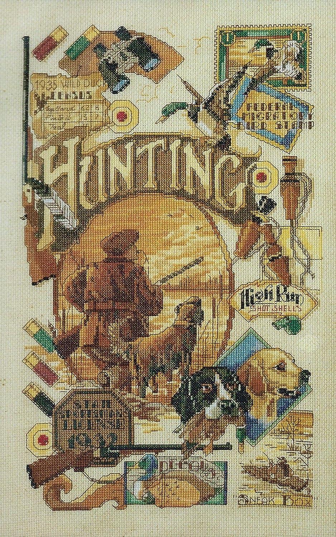 Nancy Rossi Hunting Nostalgia Bucilla 43173 Counted Cross-stitch Plaid