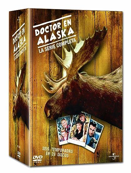 Doctor En Alaska (Pack Serie Completa) [DVD]: Amazon.es: Rob Morrow, Janine Turner, Barry Corbin, John Cullum, Darren E. Burrows, John Corbett, ...