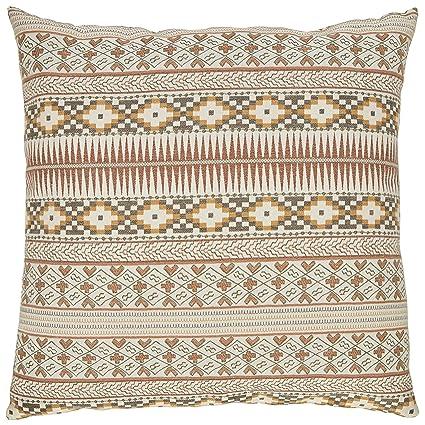 Earth Tone Throw Pillows.Stone Beam Rustic Throw Pillow 20 X 20 Earth Tones