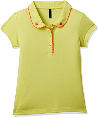 2edc9ed5 United Colors of Benetton Girls' Polo: Amazon.in: Clothing & Accessories
