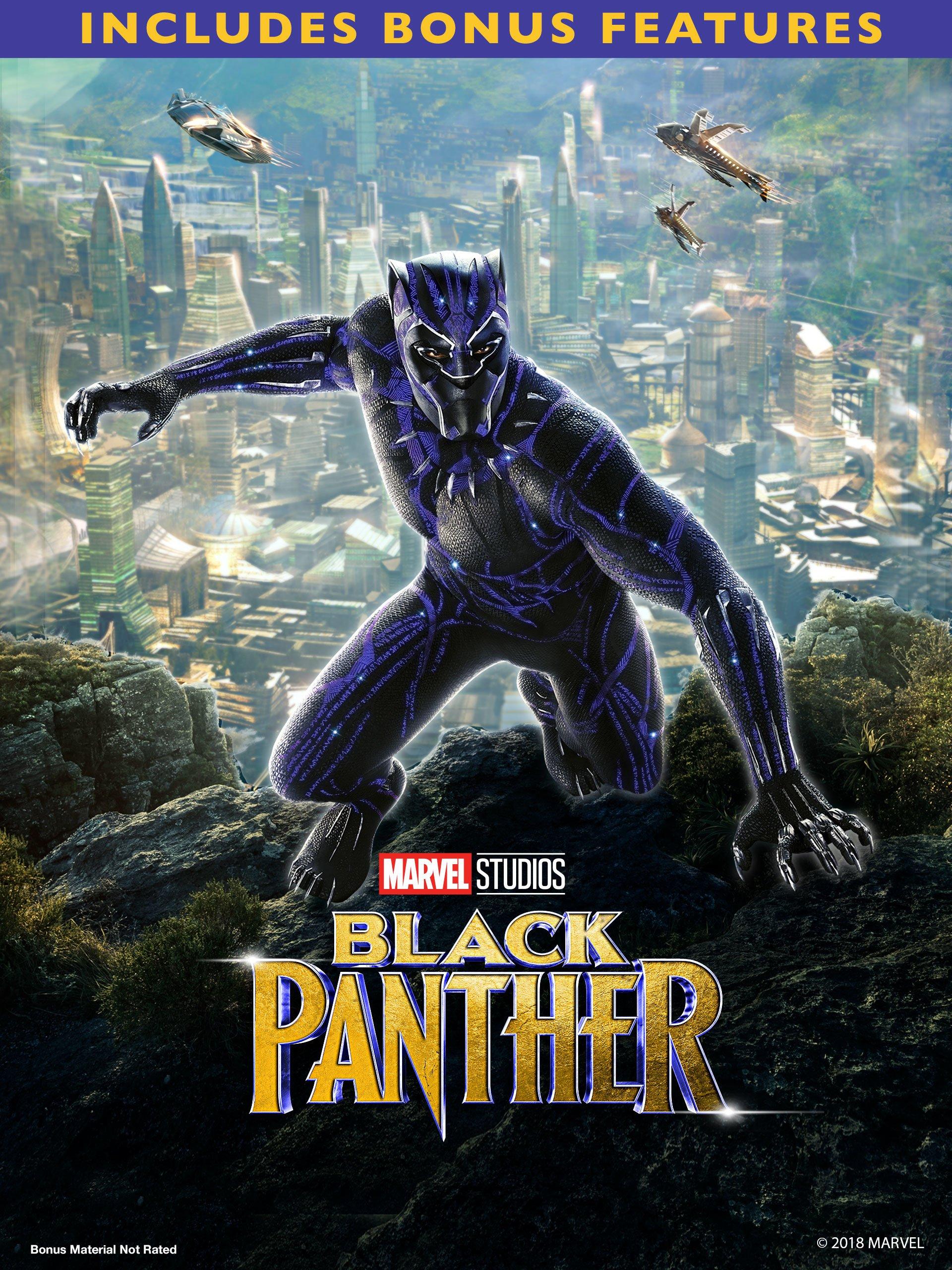 Black Panther (2018)(Plus Bonus Content)