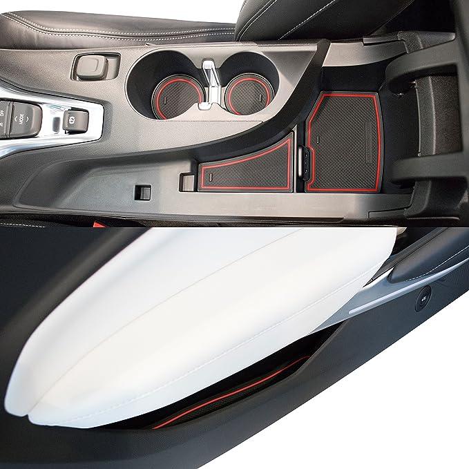 Amazon.es: Chevy Camaro Custom Fit soporte para tazas y puerta compartimento maletero accesorios 2018 2017 2016 9-pc Set