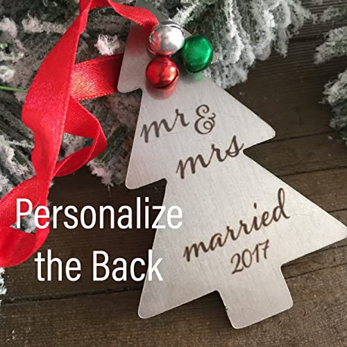 just married ornament marriage ornament newly married christmas gift first christmas married gifts for married couples