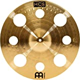 "Meinl Cymbals HCS16TRC 16"" HCS Brass Trash Crash Cymbal for Drum Set (VIDEO)"