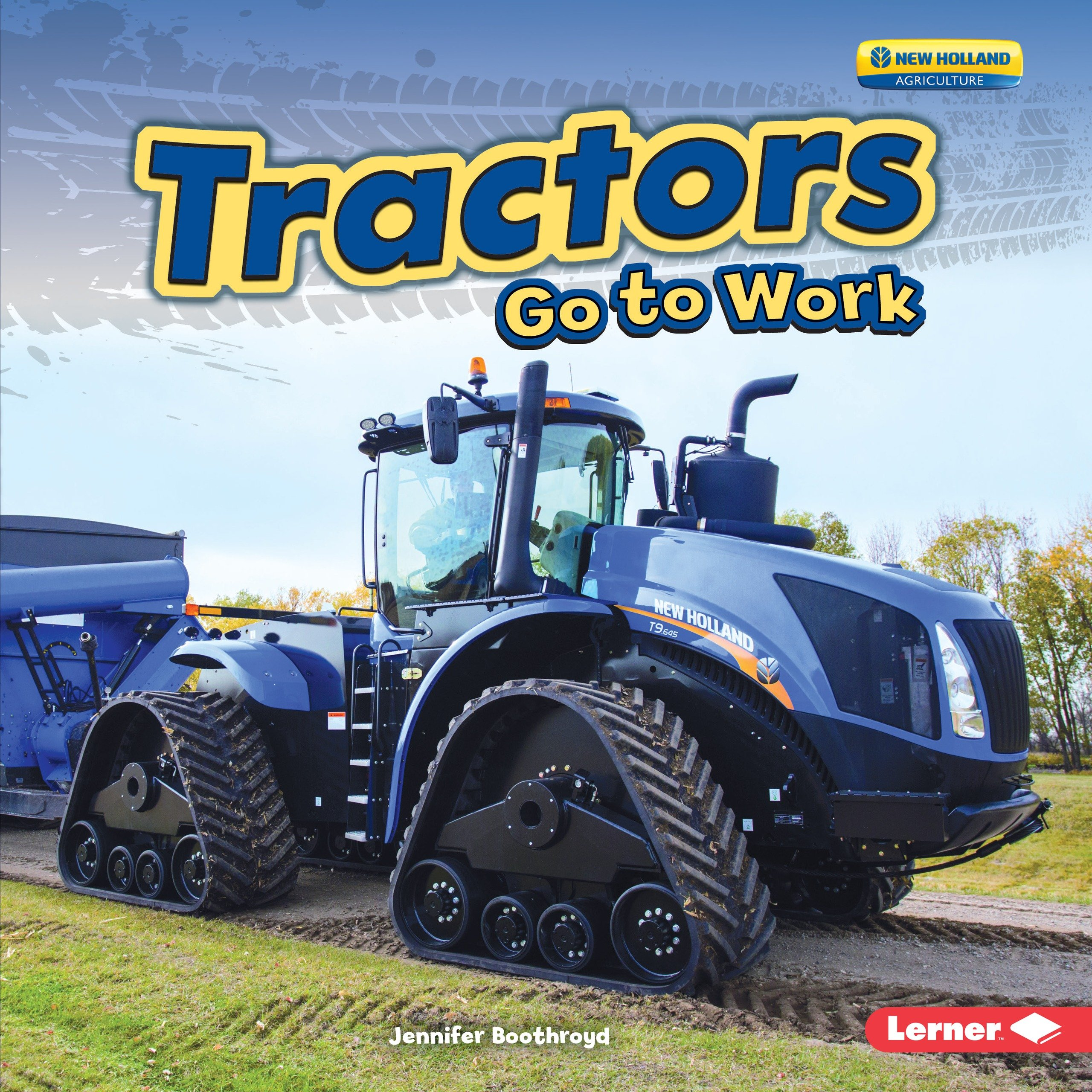 Tractors Go to Work (Farm Machines at Work) by Lerner Pub Group (Image #1)