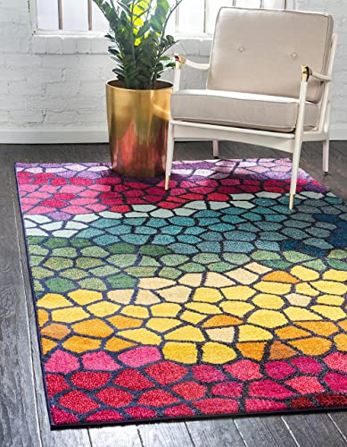 Unique Loom Estrella Colorful Area Rug