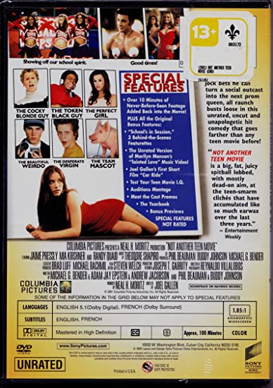 Cast from not another teen movie, hot young sex