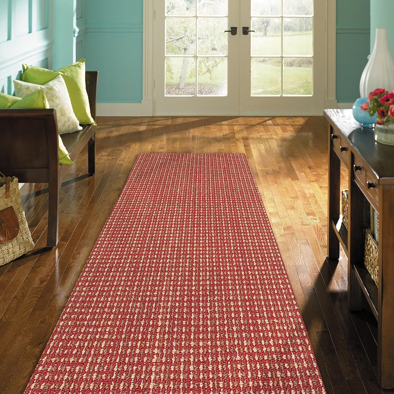 Mohawk Home San Juan Crimson Rug, 1'8x5'