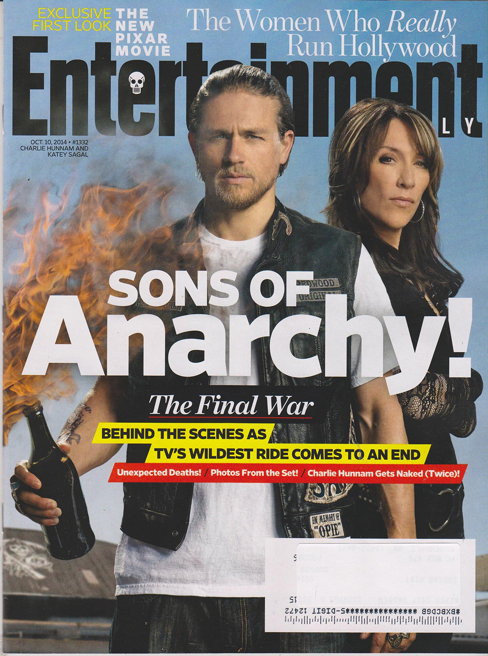 Entertainment Weekly October 10 2014 Charlie Hunnam And Katey
