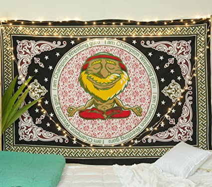 Amazon Com Popular Handicrafts Launched Tapestry Wall Hanging Yoga