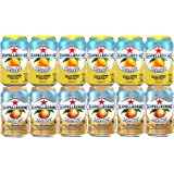 Assortment of San Pellegrino Sparkling Fruit Beverages, Drinks from Italy, Refrigerator Restock Kit (pack of 12) Limonata/Lemon and Aranciata/Orange, 11.15 oz cans