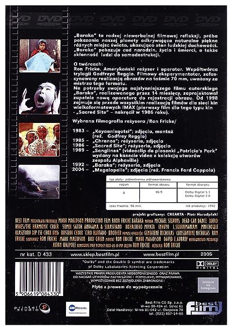 Baraka [DVD] (IMPORT) (No hay versión española): Amazon ...