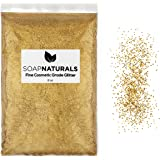 SoapNaturals Cosmetic Grade Glitter for Bath Bombs - Safe for Skin FDA Approved, Bulk 1/2 Pound 8 Ounce   Medium Fine, Iridescent Shimmer   Wholesale Soap Making Supplies for Cosmetics
