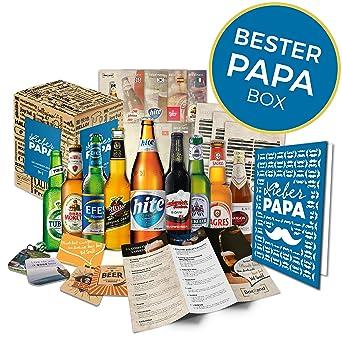 Geschenkidee Papa Zum Vatertag Geschenk Fur Manner Biere Der Welt