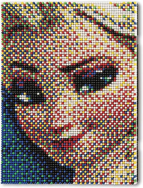 Quercetti 0806 Jeu De Mosaïques Pixel Art Reine De Glace 6400 Pièces