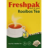 Freshpak Pure Rooibos Tea 80 Tagless Bags, Pure Rooibos and No Rooibos Infusion,  New Packaging (2 X Pack)