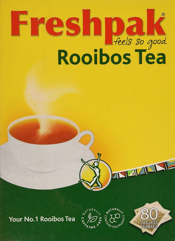 Freshpak Rooibos Tea 80 Tagless Bags 2 X Pack