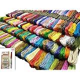 150色 カラーが豊富できれい 刺しゅう糸 刺繍系 まとめ買いオリジナルセット 150束 6本綴 900本