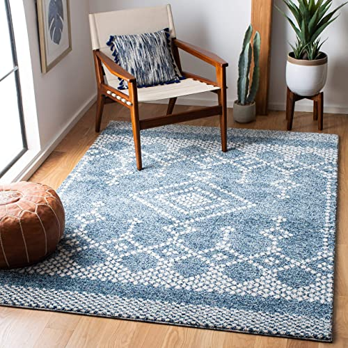 Safavieh Tunisia Collection TUN741N Moroccan Tribal Non-Shedding Stain Resistant Living Room Bedroom Area Rug - a good cheap living room rug