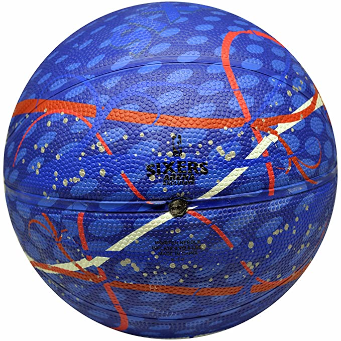 Amazon.com: Spalding NBA Philadelphia 76ers equipo de ...