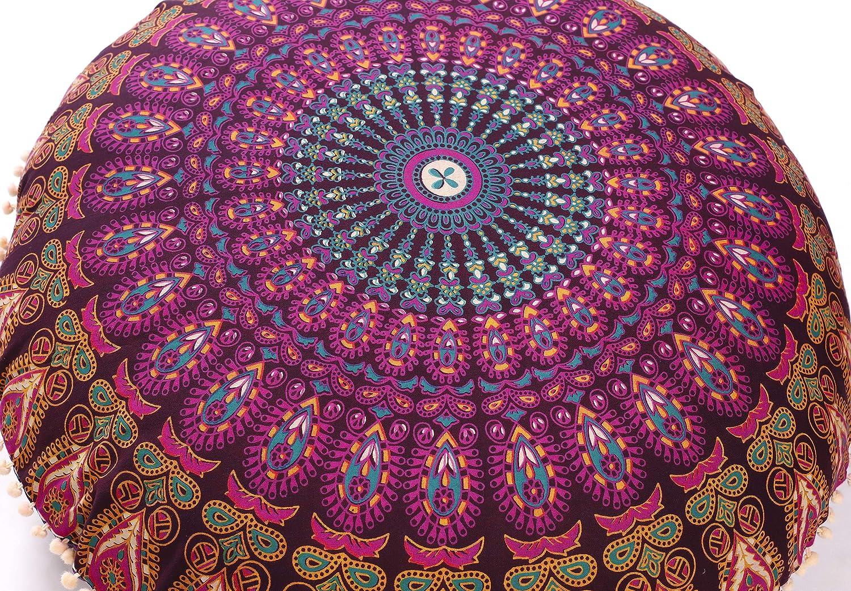 Amazon.com: Popular Handicrafts - Funda de cojín para suelo ...