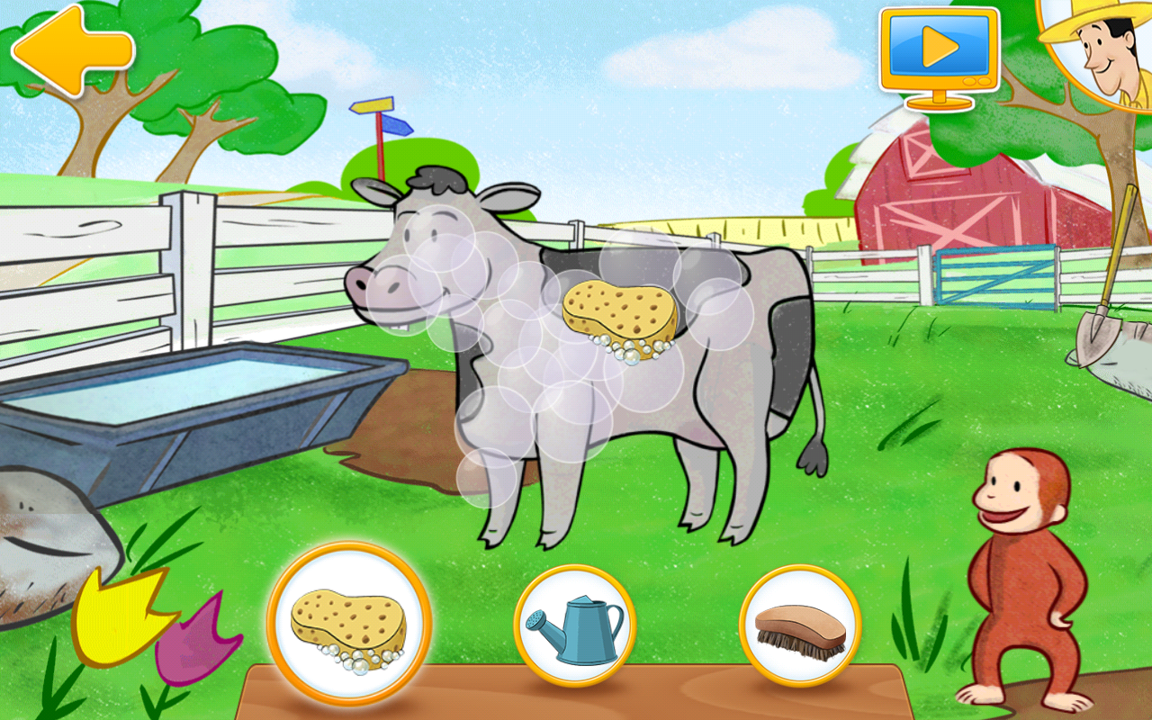Amazon.com: Curious George at the Zoo, Old MacDonald's Farm: Appstore for Android