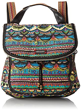 Amazon.com: Sakroots Artist Circle Convertible Backpack, Radiant One World,  One Size: Shoes