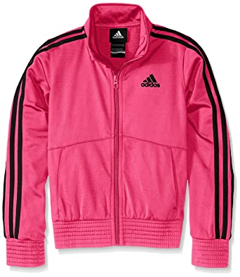 8f89153a142a Amazon.com  adidas Girls  Designator Track Jacket  Clothing