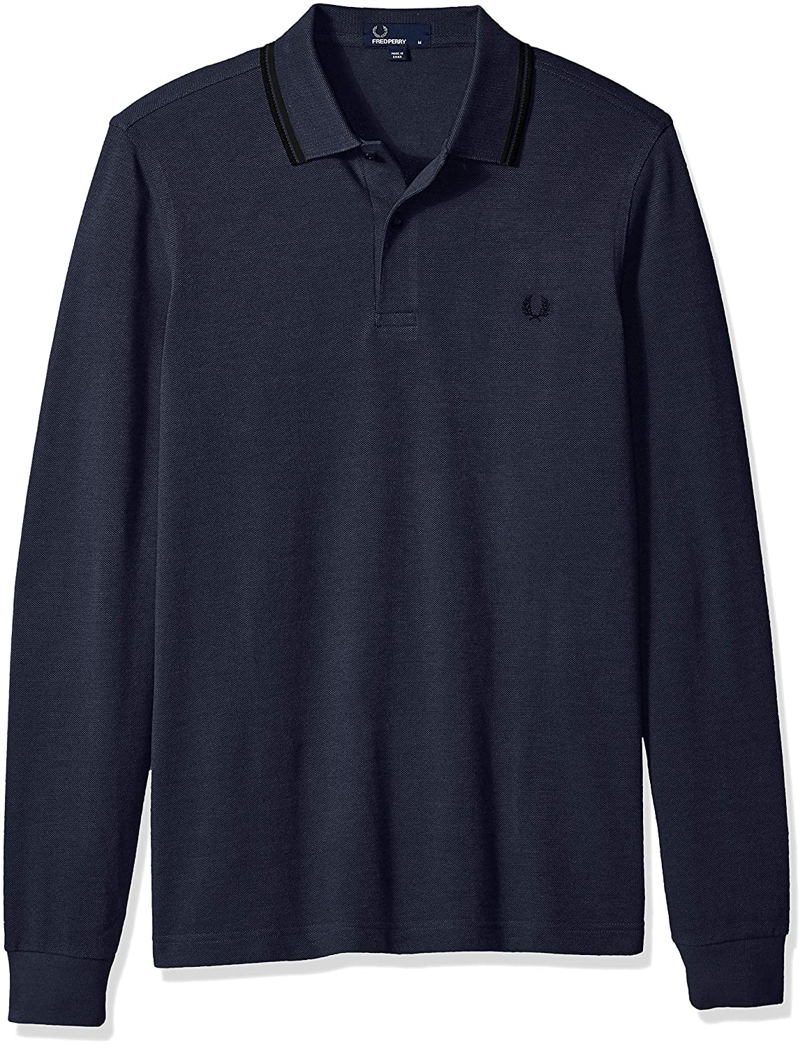 Amazon Fred Perry Mens Long Sleeve Twin Tipped Shirt Clothing